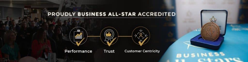 Business All Star Accredited banner