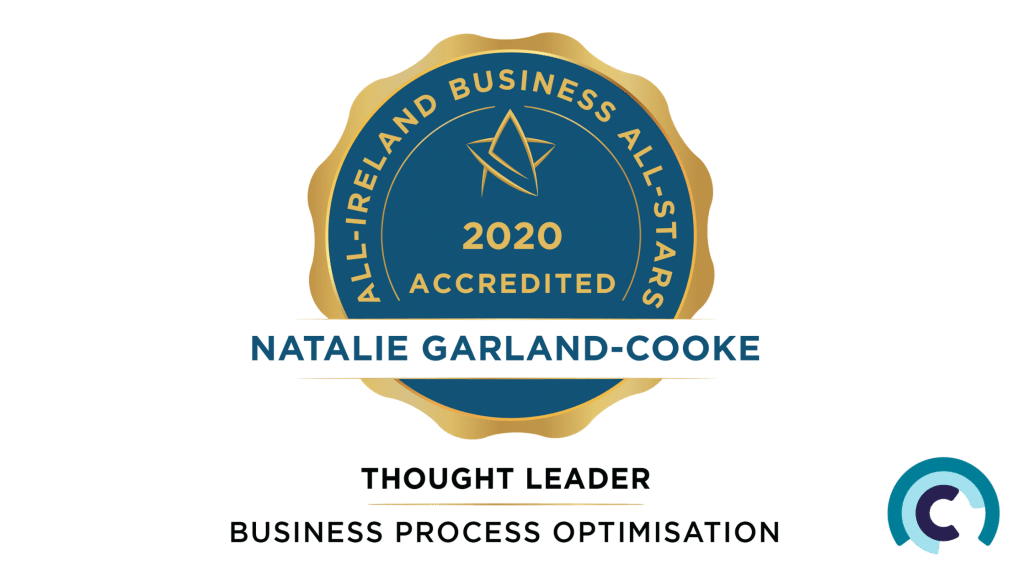 ncco recieves Business All Star Accreditation for Thought Leader in Process Optimisation